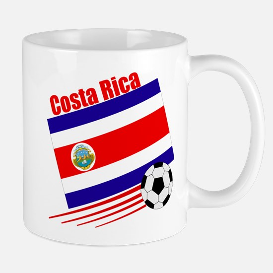 Costa Rica Soccer Team Mug