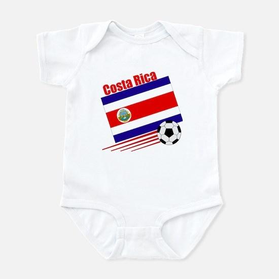 Costa Rica Soccer Team Infant Bodysuit