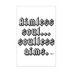 Aimless Soul Mini Poster Print