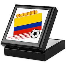 Colombia Soccer Team Keepsake Box