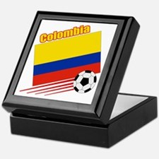 Colombia Soccer Team Keepsake Box
