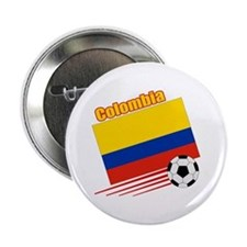 "Colombia Soccer Team 2.25"" Button (10 pack)"