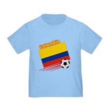 Colombia Soccer Team T