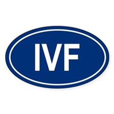 IVF Oval Decal