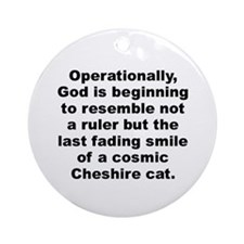 Huxley quotation Ornament (Round)