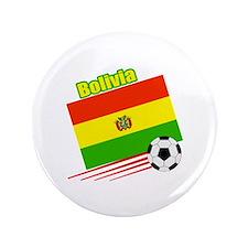"Bolivia Soccer Team 3.5"" Button (100 pack)"