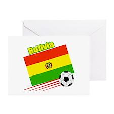 Bolivia Soccer Team Greeting Cards (Pk of 10)