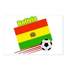 Bolivia Soccer Team Postcards (Package of 8)