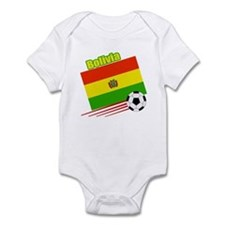 Bolivia Soccer Team Infant Bodysuit