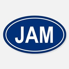 JAM Oval Decal