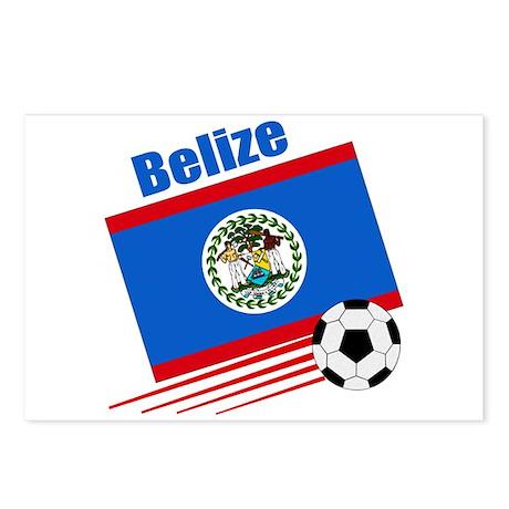 Belize Soccer Team Postcards (Package of 8)