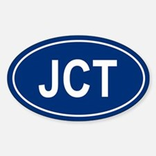 JCT Oval Decal