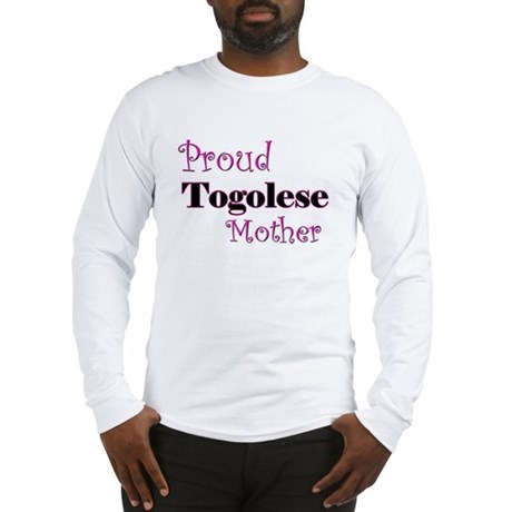 Proud Togolese Mother Long Sleeve T-Shirt