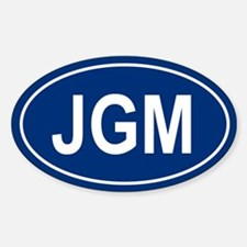 JGM Oval Decal