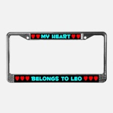 My Heart: Leo (#003) License Plate Frame
