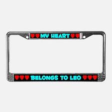 My Heart: Leo (#003) License Plate Frame