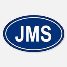JMS Oval Decal