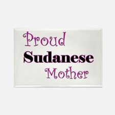 Proud Sudanese Mother Rectangle Magnet