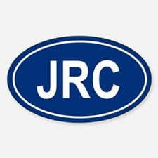 JRC Oval Decal