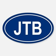 JTB Oval Decal