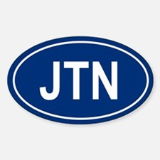 JTN Oval Decal