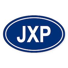 JXP Oval Decal