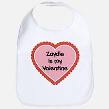 Zaydie is My Valentine Bib