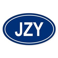 JZY Oval Decal