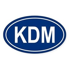 KDM Oval Decal