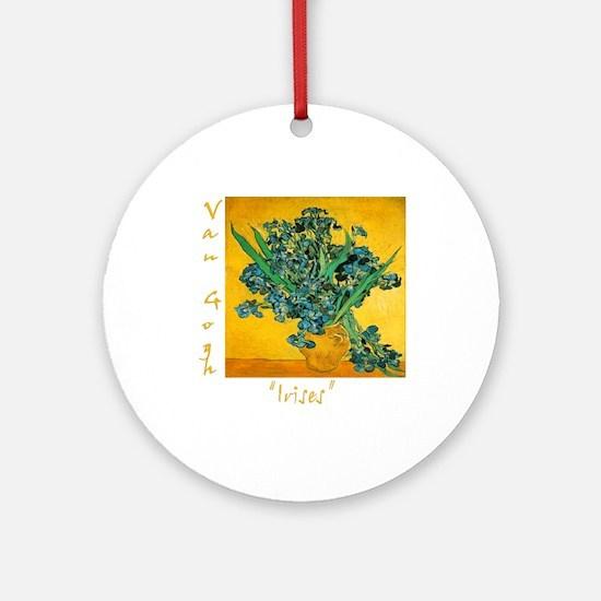 Irises Ornament (Round)