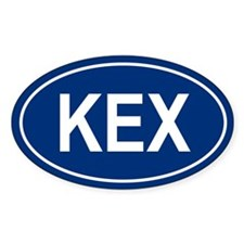 KEX Oval Decal