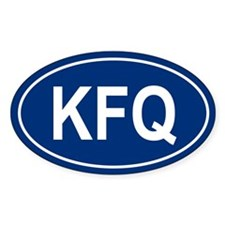 KFQ Oval Decal