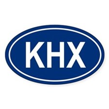KHX Oval Decal