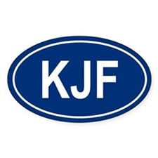 KJF Oval Decal