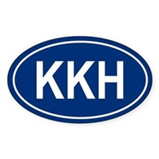 KKH Oval Decal