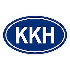 KKH Oval Stickers