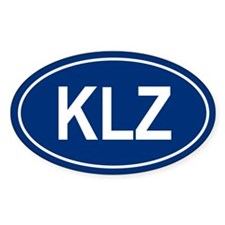 KLZ Oval Decal