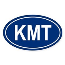 KMT Oval Decal