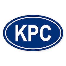 KPC Oval Decal