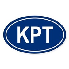 KPT Oval Bumper Stickers