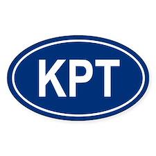 KPT Oval Decal