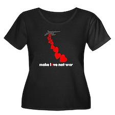 Make love not war Valentine's T