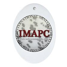 IMAPC Oval Ornament