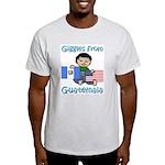 Giggles Guy Ash Grey T-Shirt
