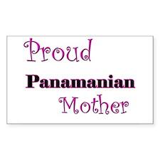 Proud Panamanian Mother Rectangle Decal