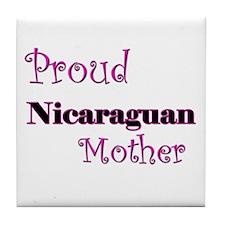 Proud Nicaraguan Mother Tile Coaster