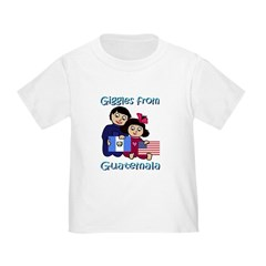 Giggles Girl & Boy Toddler T-Shirt