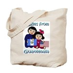 Giggles Girl & Boy Tote Bag
