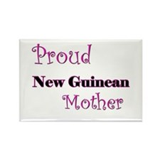Proud New Guinean Mother Rectangle Magnet