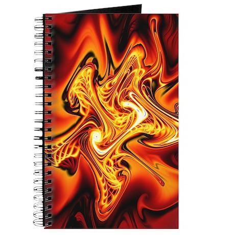 """""""Blazing Cipher"""" Fractal Art Journal"""